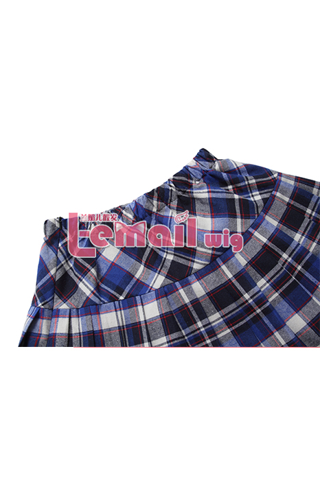Women Girls School Plaid Tartan Skirts Dresses GC92