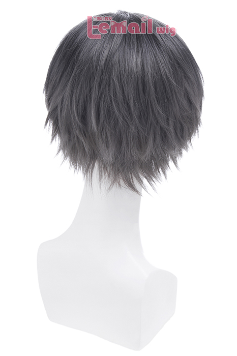 Tsukiuta Nagatsuki Yoru Short Black Straight Wigs ML228