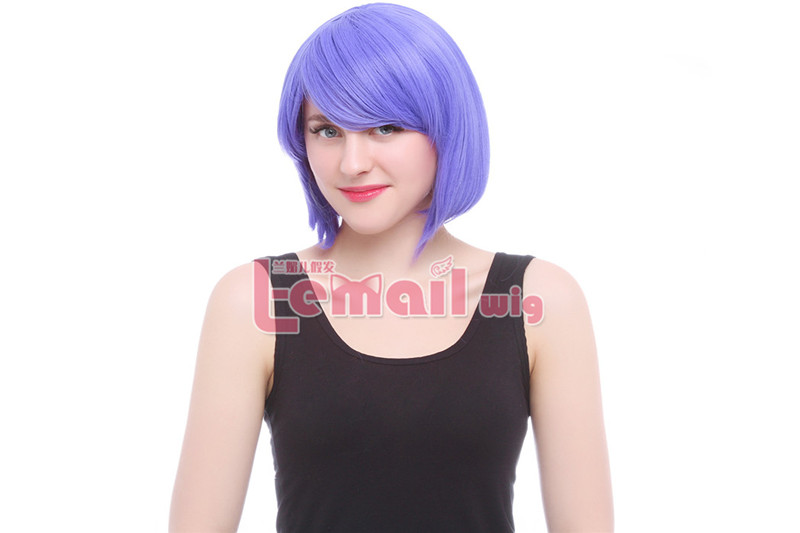 30cm Short Bob More Beautiful Purple Color Cosplay hair Wig