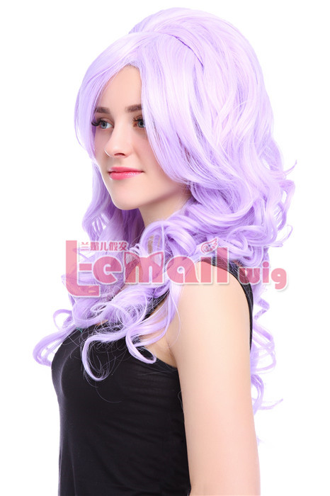 65cm long wavy two color Countess cosplay hair wig