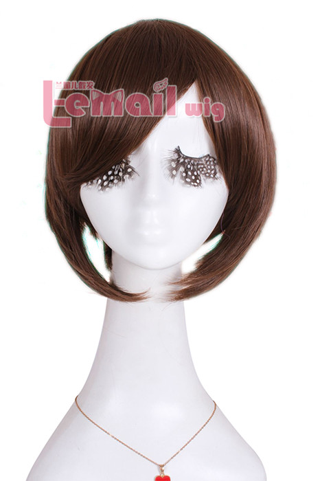 30cm Attack on Titan Sasha Blouse clip on ponytail coaplay wig