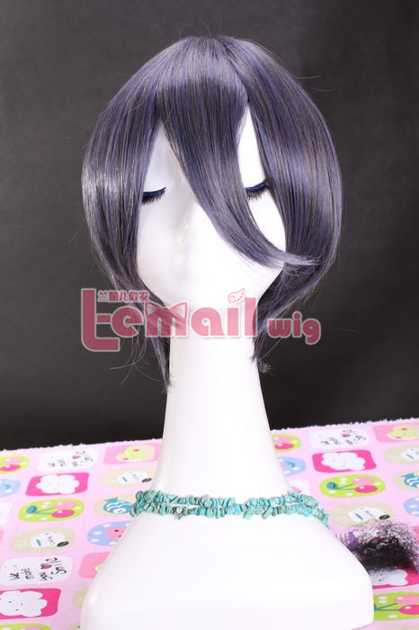 60CM Kuroshitsuji Long blue black Cosplay Party Hair hair Wig