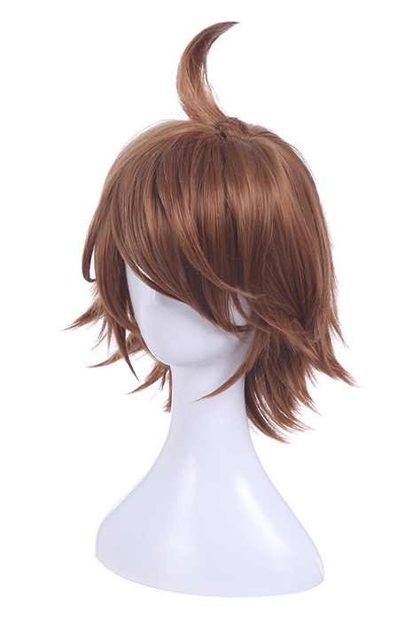 King of Glory Hero Li Bai Short Curly Dark Brown Cosplay Wigs