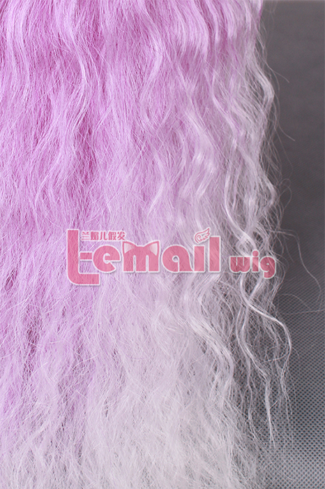 70cm long Rhapsody multi-color curly wave cosplay wig