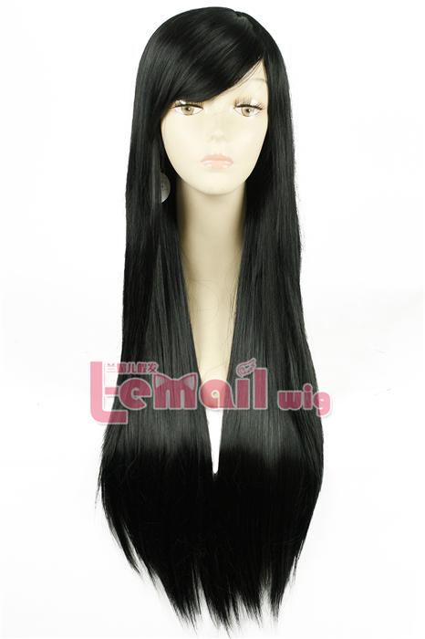 80cm Long Straight 5 Colors Fashion Hair Wig FL41