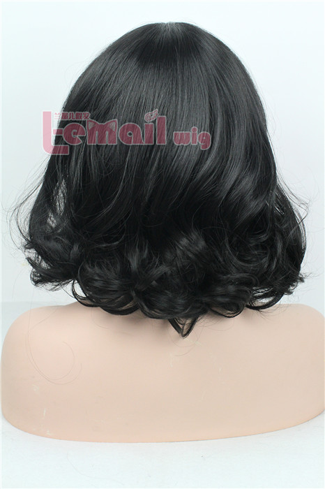 35cm two wave women fashion hair wig