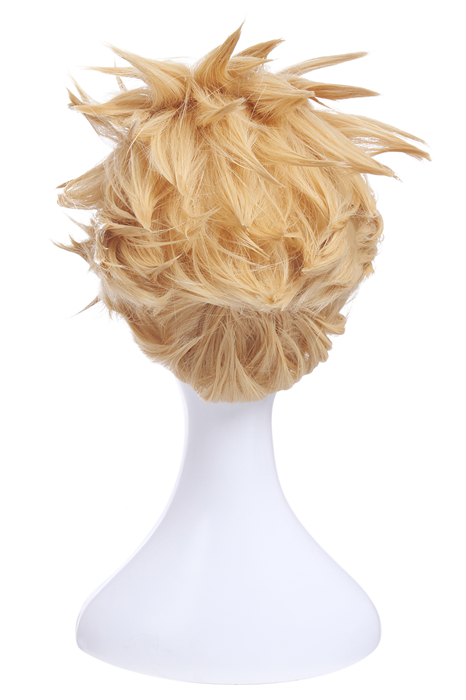 Fate Stay Night Gilgamesh Blonde Short Styled Cosplay Wigs
