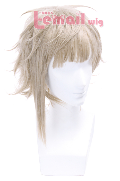 25cm Silver Stray Dogs Short Cosplay Wig JF-0329-BCM