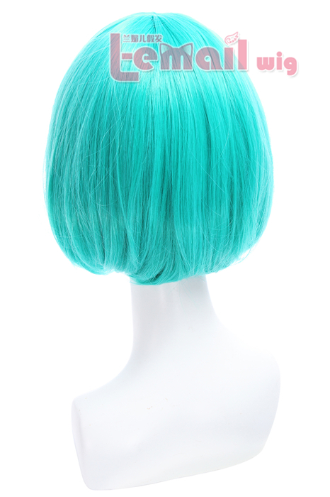 30cm New style Short Bob straight Teal Green cosplay hair wig