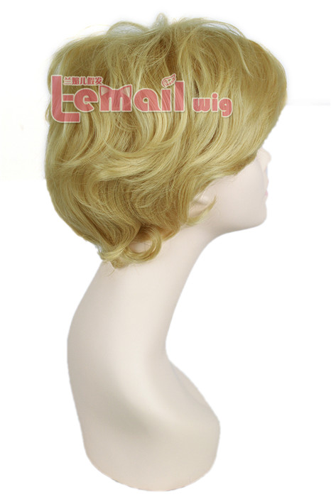 25cm Short Sailor Moon Tenoh Haruka Cosplay Hair Wig ML198