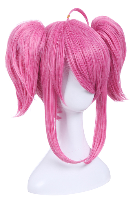 League of Legends Champion Lux Pink Long Straight Cosplay Wigs