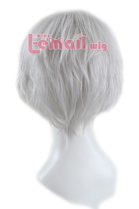 GINTAMA Sakata Gintoki short men cosplay hair wig