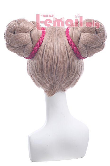LOL The Glory Of The King Little Joe Braid Cosplay Wigs ZY213