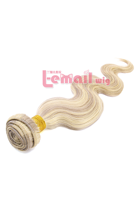 16inch Body Wave Mixed Color Human Hair Extension 100g YHWFBW100