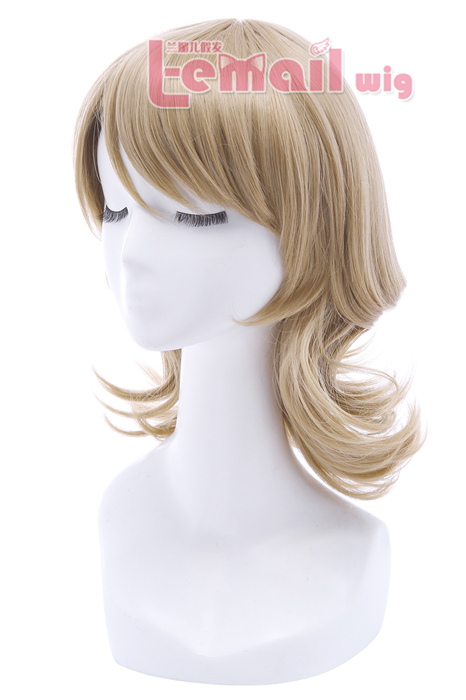 LoveLive!Sunshine!! Watanabe You Light Brown Cosplay Wigs ZY207