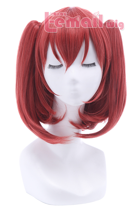 LoveLive!Sunshine!! Kurosawa Ruby Raspberry Pink Cosplay Wigs