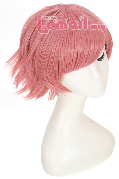 30cm Short League of Legends Annie Pink Cosplay Women Hair Wig