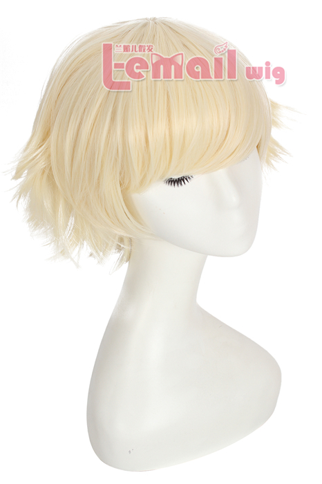 30cm Short League of Legends Annie Beige Cosplay Women Hair Wig