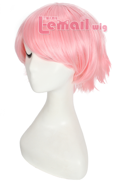 30cm Short League of Legends Annie Light Pink Cosplay Women Wig