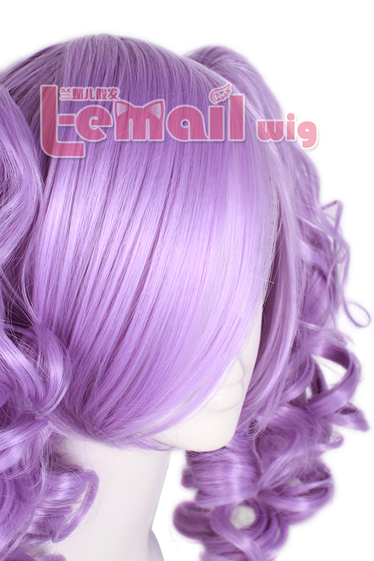 30cm long Violet Meredy Wave Tales of Eternia Cosplay Wig