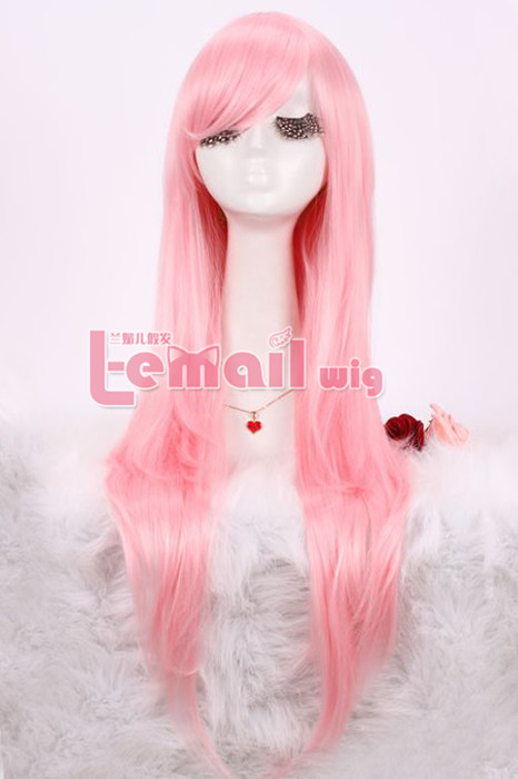 80cm Long Nase Mitsuki Pink straight Cosplay Wig CW109A