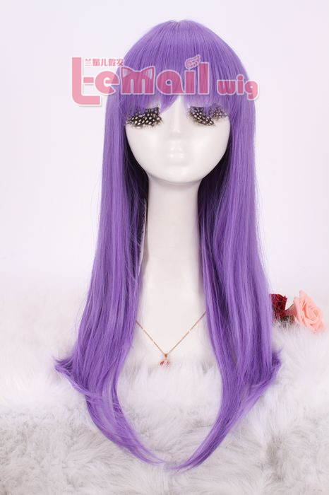 55cm long 5 colors Anime straight Smooth Cosplay women hair wig