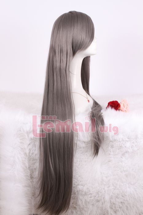 100cm Long Straight Anime CLANNAD Sakagami Tomoyo Cosplay Wig