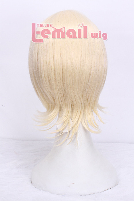 Anime Black Butler Alois Trancy Blonde Cosplay Wig
