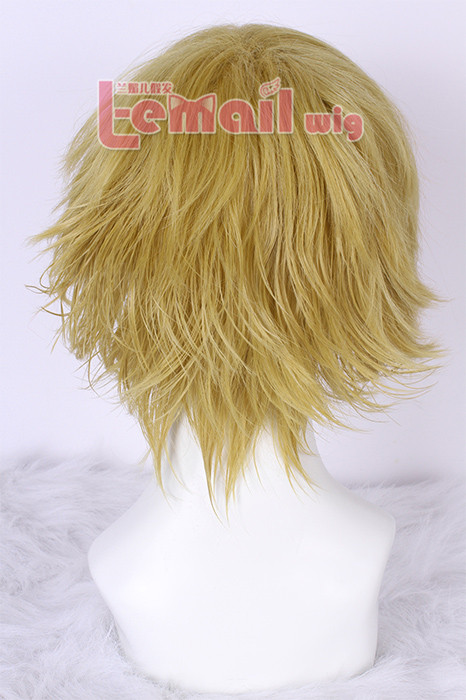 Heiwajima Shizuo Durarara men women blonde cosplay wig hair