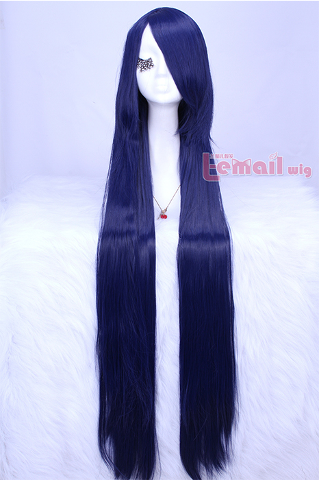 100cm Long Straight HITMAN REBORN! Lal Mirch Cosplay Wig ML158