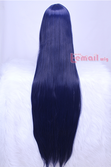 100cm Long Straight HITMAN REBORN! Lal Mirch Cosplay Wig