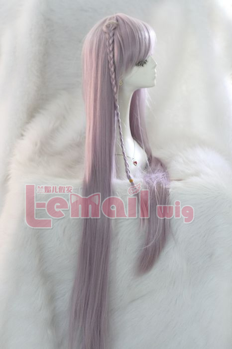 100cm long Danganronpa Kirigiri Kyouko Taro cosplay hair wig