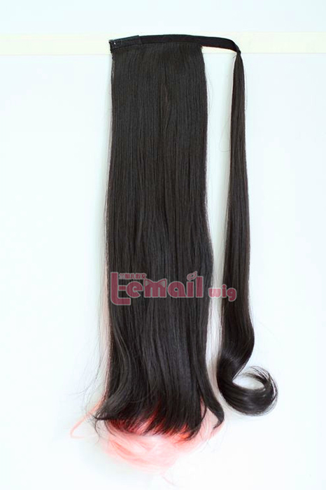 Clip In Pony Tail Hair Extension Wrap Around Ponytail Hair Piece