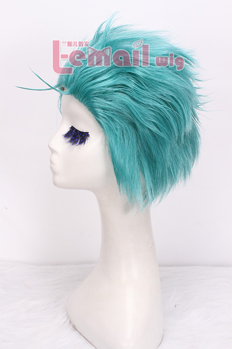 26cm short green Roronoa Zoro ONE PIECE cosplay wig