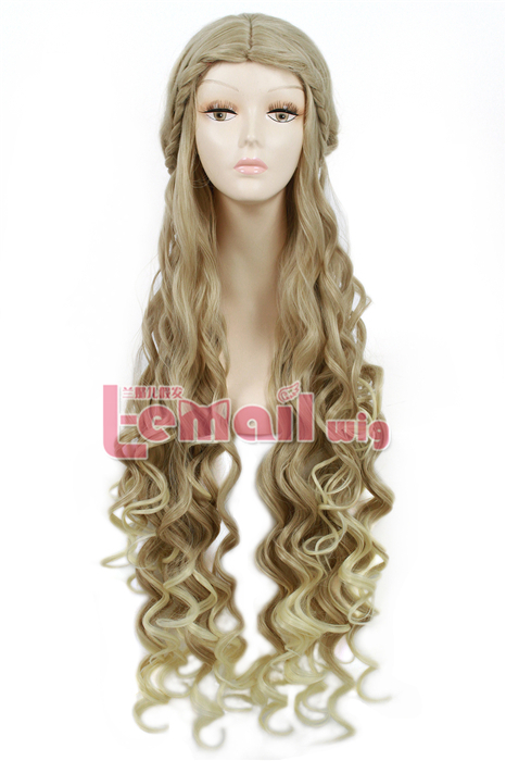 Daenerys Targaryen Mother of Dragons Game of Thrones cosplay wig