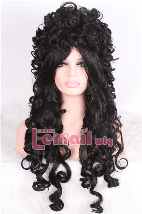 80cm long four color Marie Antoinette Anime cosplay hair wig
