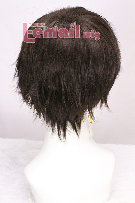 Attack on Titan Levi short black wig for men women cosplay
