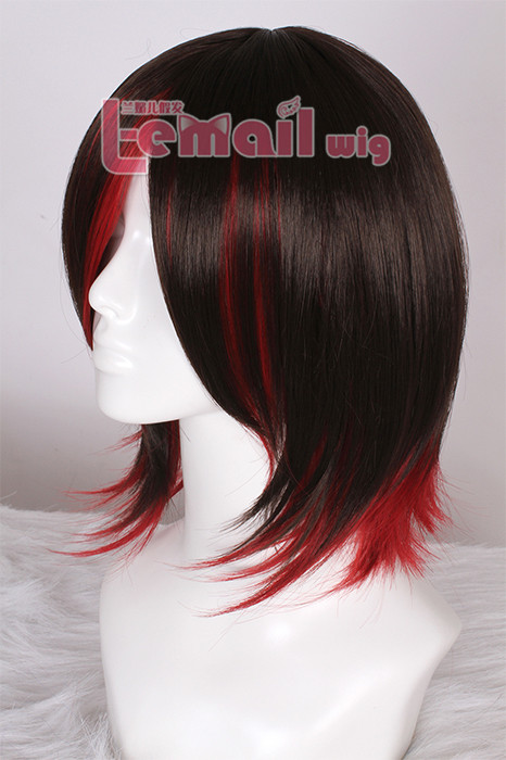 35CM mixed color men women new style cosplay hair wig