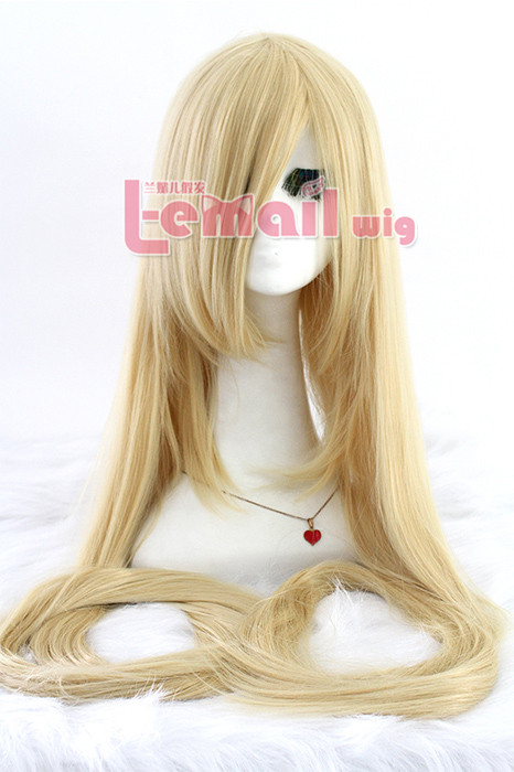 Tangled 150cm Supper Long Straight Beige cosplay party wig