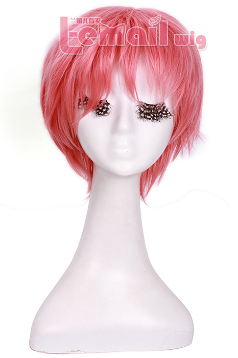 25cm FAIRY TAIL Etherious Natsu Dragneel Cosplay Hair Wig ZY86 ZY86