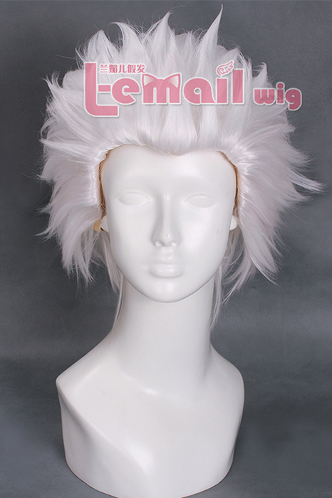 28cm Short White Fate/stay night Archer Cosplay Wig